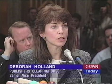 Deborah Holland Publishers Clearing House - deborah holland c span org