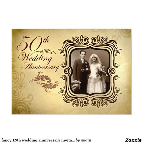 cheap 50th wedding anniversary invitations 108 best images about 50th wedding anniversary invitations