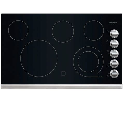frigidaire electric cooktops frigidaire gallery 36 in radiant electric cooktop in