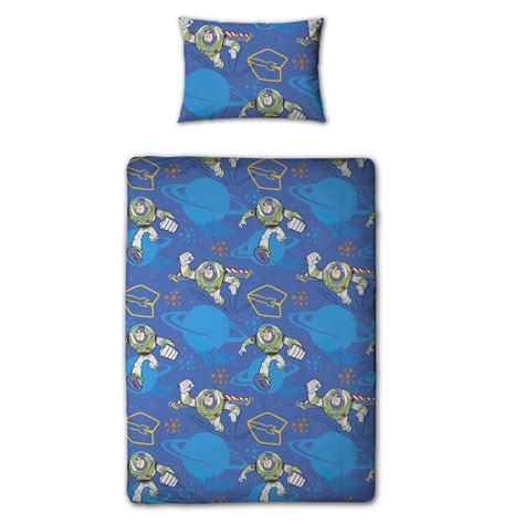 Buzz Lightyear Duvet Cover Toy Story Infinity Junior Cot Bed Duvet Cover New