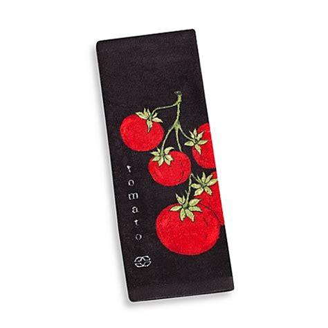 buy calphalon fiber reactive print kitchen towel in black