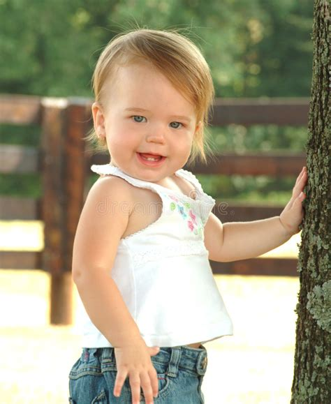 baby country country baby stock image image of closeup bluejeans