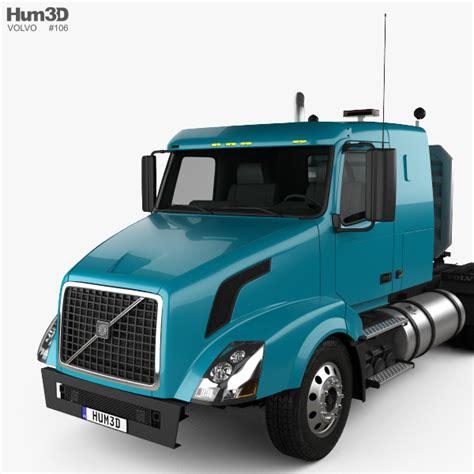 volvo truck tractor volvo vnl 430 tractor truck 2011 3d model hum3d
