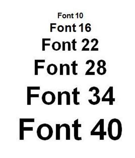 font size matters  elf  tech