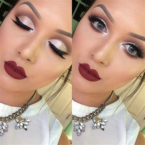christmas makeup images 6 holiday makeup looks perfect for new years