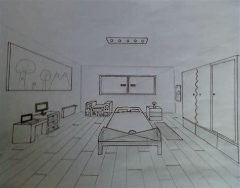 chambre en perspective dessin stunning chambre en perspective point de fuite photos