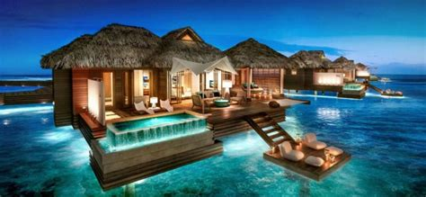 cheapest sandals resort cheap water villas in the maldives overwater bungalows