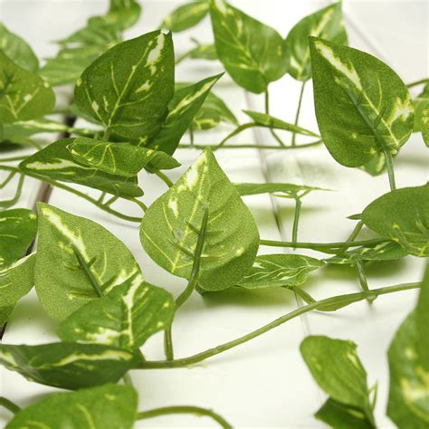 Green Plant L Dari Karton home decor green plant leaf artificial flower plastic garland vine foliage epipremnum aureum