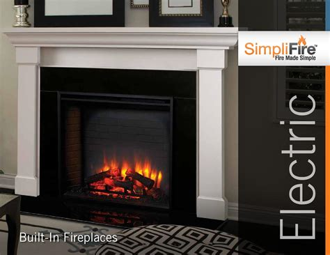 simplifire electric fireplace electric fireplaces