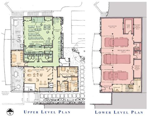 fire station floor plans fire station plan fire station research pinterest