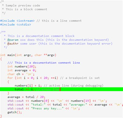 code blocks colour themes conf syntax highlighting custom colour themes codeblocks
