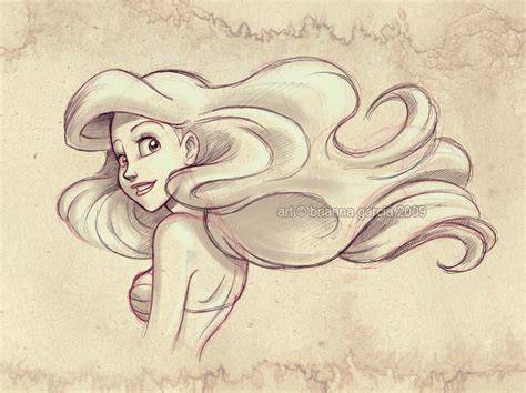 Disney Princess Ariel Drawings Princess Ariel Drawing Art Inspiration Pinterest