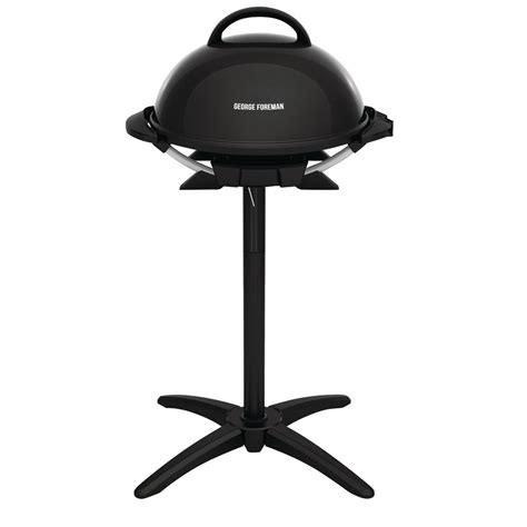 Grill Foreman by George Foreman Indoor Outdoor Electric Grill In Black