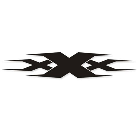 design logo sticker xxx logo design reflective personality car sticker car