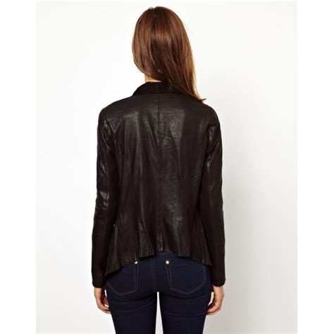 moto style jacket womens designer moto style black leather jacket