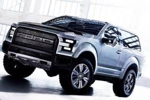 2016 Ford Bronco 2016 Ford Bronco Svt Raptor Gear Heads