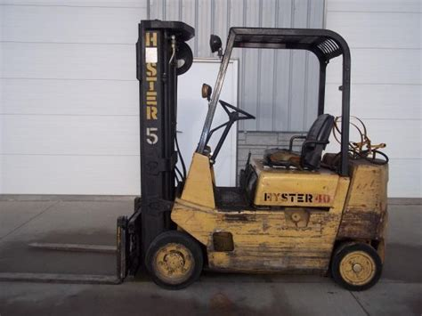 serial 9009 potomki t my hyster 40 forklift w cascade bale cl classified ad