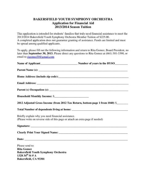 bakersfield youth symphony orchestra membership information