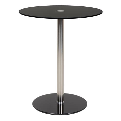 Side Bar Table by Black Modern Glass Top Side Table Sidebar
