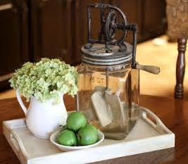 everyday dining table centerpiece simple and interesting