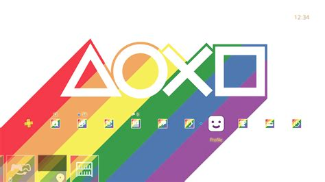 ps4 themes ign colorful ps4 theme released to celebrate lgbt pride month