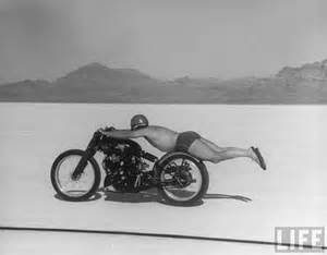 Speed Record Live Fast Ride Free Roland Rollie Free S 1948 World