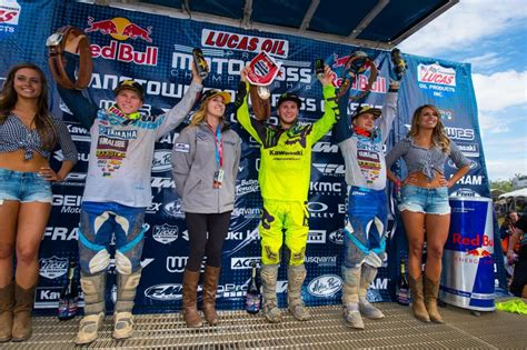 lucas oil pro motocross results lucas oil pro motocross chionship results hangtown