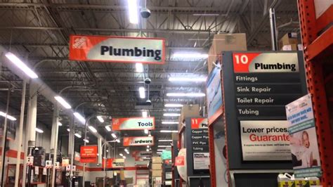 plumbing aisle sign home depot hilarious