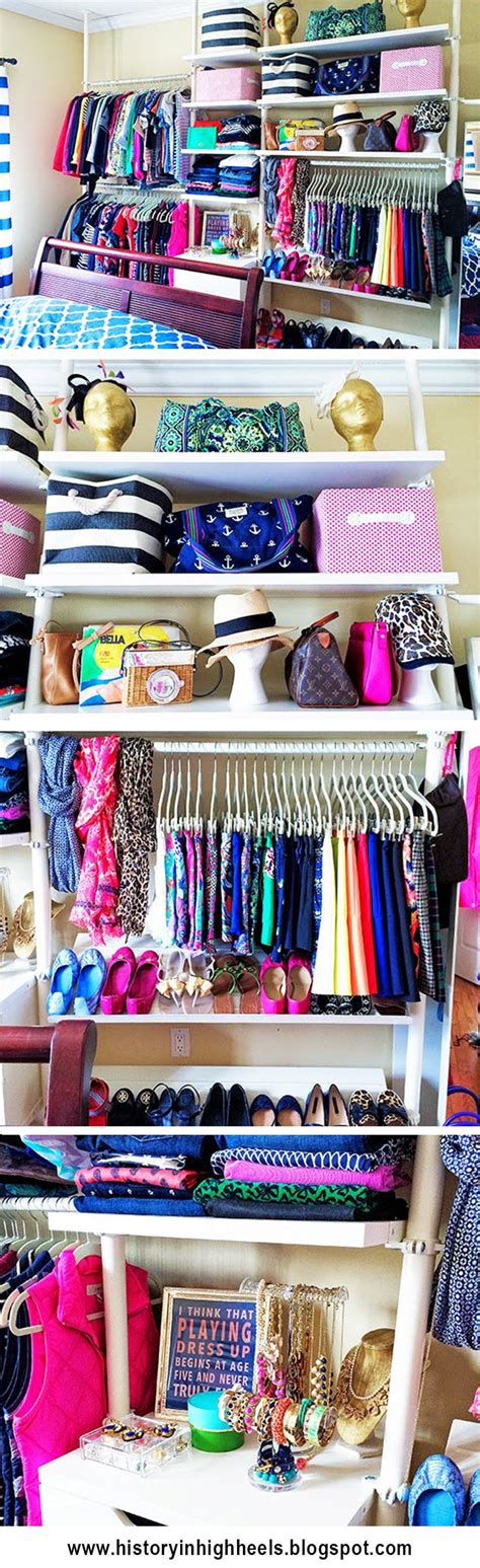Open Closet Boutique by No Closet Space No Problem Turn Any Wall Into A