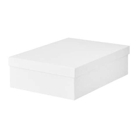 Ikea Tjena Kotak Kompartemen Putih tjena kotak storan berpenutup ikea