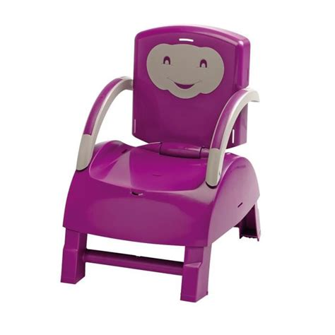 thermobaby rehausseur de chaise thermobaby r 233 hausseur de chaise prune et gris achat
