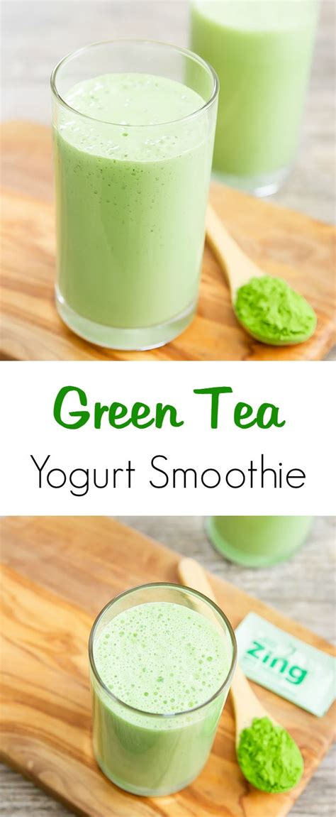 Yogurt Detox Benefits by Check Out Green Tea Smoothie It S So Easy To Make