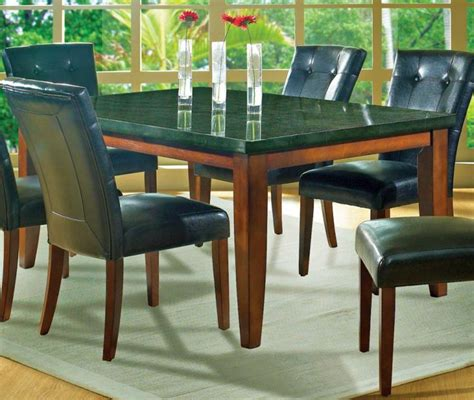 Granite Top Dining Table Designs 17 Amazing Granite Dining Room Table Designs