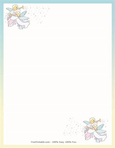 printable angel stationery search results for free printable snow stationery