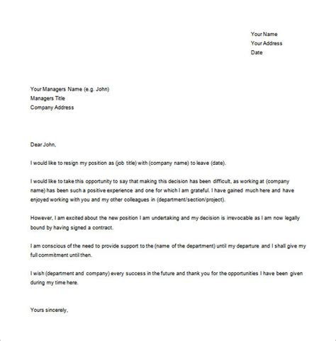 Best Resignation Letter Software Engineer how to write resignation letter in software company
