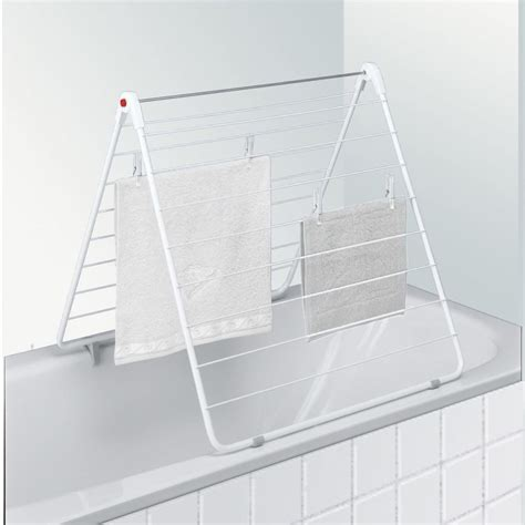 bathtub drying rack leifheit bathtub drying rack classic 110 bath 72708