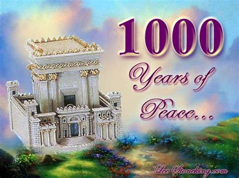 1000 images about christian pics 1000 years of peace the millenimun
