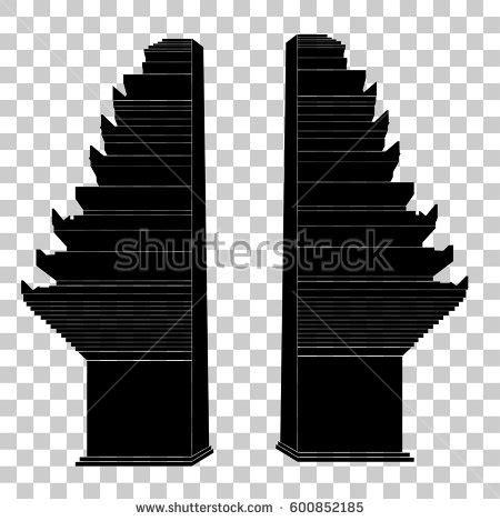 desain gapura vector west java vector stock images royalty free images