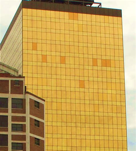 glass curtain wall building building language art deco historic indianapolis all