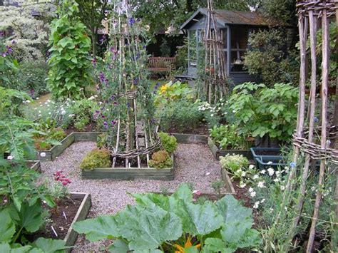 Kitchen Gardening Ideas Country Cottage Garden Ideas