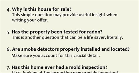 list of questions to ask when buying a house list of overlooked questions to ask your real estate agent when buying a home