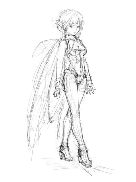 pixie sketch by marymirabella on deviantart