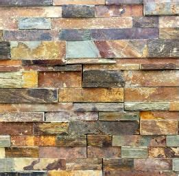 stack stone ledger panels backsplash tile pinterest copper rust slate ledgestone fireplace stacked ledge