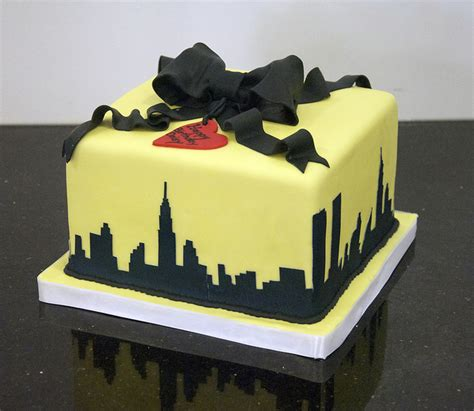 New York Themed Cake Decorations by New York Themed Birthday Photo Flickr