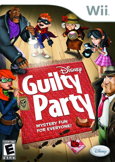 design wii game guilty party wii ign