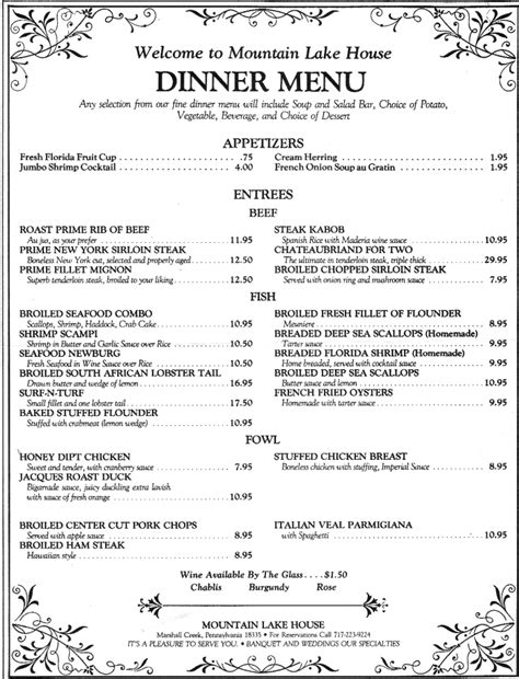 fancy dinner menu template fancy dinner menu template quotes