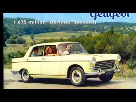 peugeot history peugeot 404 production history