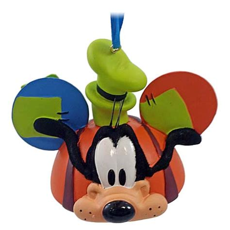 your wdw store disney ear hat ornament goofy