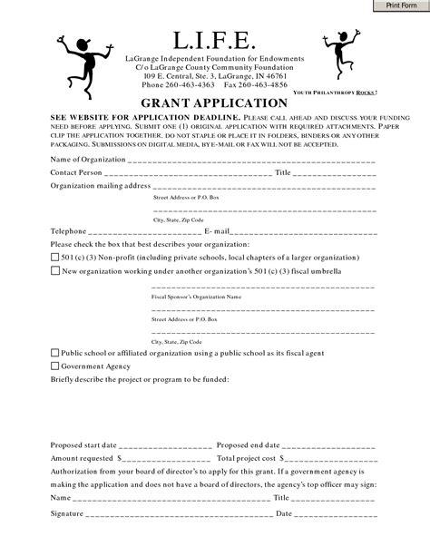 best photos of non profit grant proposal template sle
