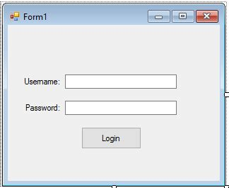 decorator pattern vb net how to create a simple login form using vb net and ms access